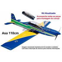 Aeromodelo Tucano T-27 Kit Para Montar - Kit Kemp Aeros