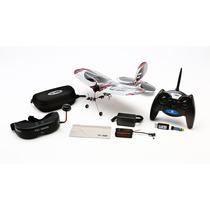 Avião E-flite Fpv Vapor Rtf W/ Headset Com Fatshark Eflu6600