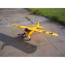 Aeromodelo Piper J3 -46 A 55 - Kit Para Montar Cortado Laser