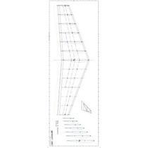 Planta Da Asa Do Aeromodelo Zagi Em Arquivo Pdf