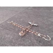 Kit Aeromodelo Piper Giant 3 Metros De Asa Cortado A Laser