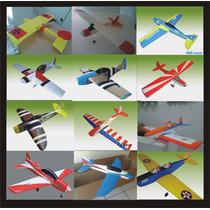 Kit Para Montar Aeromodelos De 1,00 De Asa, Diversos Modelos