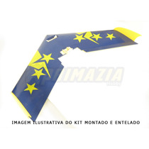 Kit Asa Zagi 90cm + Montante + Varetas Mh45 Ou Clark Y