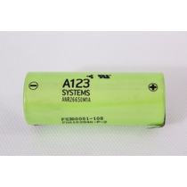 Genuine A123 Systems 26650a Life Po4 Cell W/ Tabs.