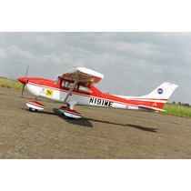 Aeromodelo Cessna 182 Glow 46-55 Kit Arf Combustão