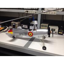 Aeromodelo Autogiro Escala Cierva-c30