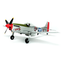 Automodelo Parkzone Ultra Micro P-51d Mustang Rtf With As3x