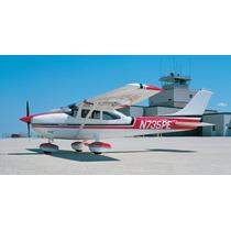 Planta Do Aeromodelo Cessna 182 Giant Frete Gratis