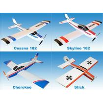 200 Plantas De Aeromodelos Em Pdf