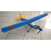 Aeromodelo Piper J3 Pastinha Artal Motor Asp 52 2t Completo