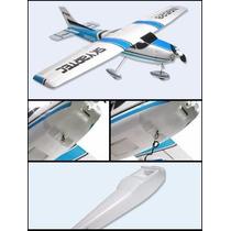 Kit Aeromodelo Cessna 185 Para 5 Canais. Para Montagem