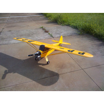 Planta Aeromodelo Piper J3 - Motor 30cc A 50cc (corte Laser)