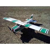 Aeromodelo Elétrico Cessna 1,20 De Asa Kit Para Montar