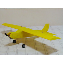 Aeromodelo Pastinha 1,20m Asa Completo Eletrônica Combo 2822