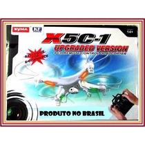 Drone Quadcopter Syma X5c, X5c-1 C/ Câmera Hd Pronta Entrega