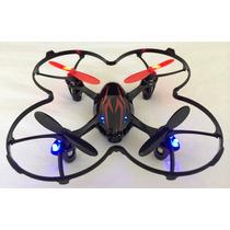 Drone Quadricóptero Hubsan X4 H107c V2 C/ Câmera 4ch 2.4ghz