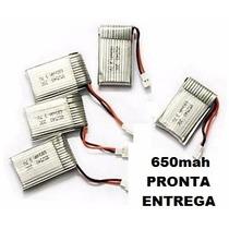 5 Baterias 3.7v 500mah Drone Syma X5c, X5c-1 Pronta Entrega