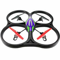 Quadricoptero Drone Wltoys V262 Gig. 4-ch C/ Cam. Hd + Sd 2g