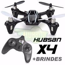 Drone Quadricóptero Hubsan X4 H107 V2 + Bateria Extra Grátis