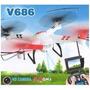 Drone Wltoy V686g Imagem Ao Vivo Fpv - Pronta Entrega