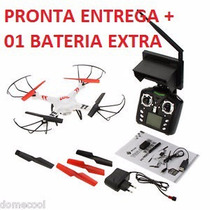 Drone V686 V686g Fpv Imagem Ao Vivo - Bateria Extra