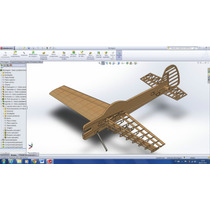 Planta Aeromodelo Aviao Yak 55m 1800mm 20cc - Corte A Laser