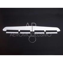 Asa Planador Isopor P3 21cm X 2,00m C/ Ailerons E Flaps