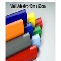 Vinil Adesivo 10m X 50cm P/ Aeromodelo,decoração, Plotter,