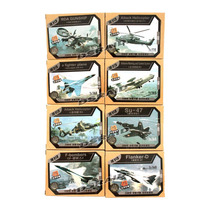Aircraft Plastic Model Air Fighter Figure 4d Puzzle Aer