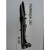 Adesivo Tucano A-29 Esquadrilha Da Fumaça!!