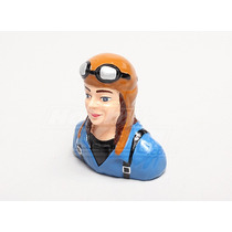 Piloto Resin Female Civilian For 1.20 Size (h89xw82xd38mm