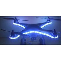 Phantom Dji - Led Red - Blue - White - Luz Noturna - Lindo !