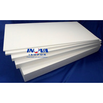 20 Placas De Isopor P3 100x50x1,5cm + 5 Placas De 100x50x3cm