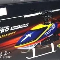 T-rex 450 Pro Super Combo + Radio Turnigy 9x 9ch Com 2 Recep