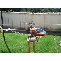 Helicóptero Marca Kalt Motor Os 61 Nitro