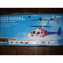 Helicóptero Big Lama E-sky Co-axial, Aceito Trocas