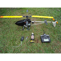 Helicóptero Kalt Baron 30, Voando, Leia Anuncio Com Atenção