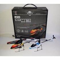 6 Mini Helicóptero V911 ,completo Com Gyro, Rtf 2,4ghz