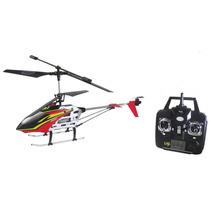 Helicoptero Aeromodelo De Controle Remoto Sem Fio 3 Canais