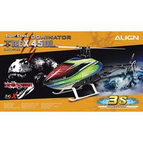 Helicóptero Align T-rex 450l Dominator Super Combo 3s Rh45e1