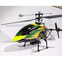 Helicóptero V912 4ch 2.4ghz Câmera Bateria Adicional Wltoys