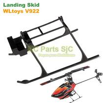 Trem De Pouso (landing Skid) Para Helicóptero Wltoys V922