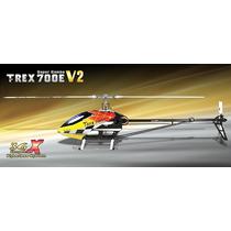 Align Trex 700 E V2 Elétrico Novo - Pronto Para Voar