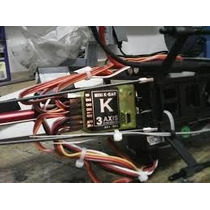 Flybarless Gyro Kbar Trex 450 500 600 700 Jr 3d Goblin