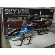 Helicoptero Controle Remoto Sky King 3.5ch