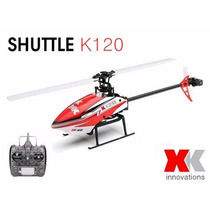 Helicóptero Xk K120 6 Canais Rtf - Pronta Entrega