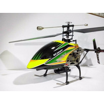 Helicoptero V912 4canais Controle Remoto Longa Distancia