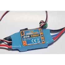 Speed Controller Esc Hobby King 60a Ubec 5,5v 4a Lipo 2~4s