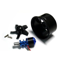 Edf Turbina 64mm Com Motor Brushless 4500kv