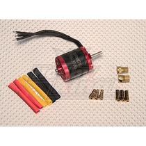 Motor Turnigy 2836 3700kv Heli 450 Brushless + Conectores